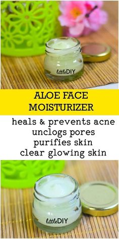 Homemade moisturizers are the best because you can add in your favourite organic oils and natural oils always work the best when it comes to skin care (and h...