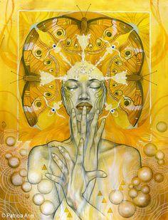 """Elements Air:  """"Materia Air,"""" by Patricia Ariel."""