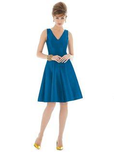 Alfred Sung Bridesmaid Dress Style - D662 | Blush Bridal