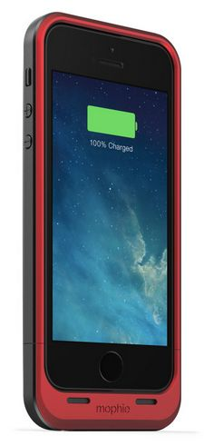 Give him the gift of extra-long battery life with the Mophie Rechargeable Battery Case http://www.mophie.com/