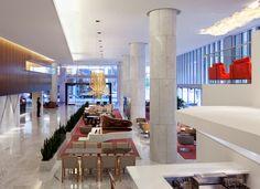Fairmont Pacific Rim - Vancouver, BC designed by B+H Chil Design - lobby