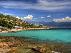 Plage de Ajaccio, Corse