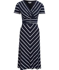 hot sale online 22ded 3ea68 black and white stripes in a dress- fantastic
