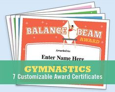 Lacrosse certificates templates lacrosse lacrosse quotes and team mom gymnastics certificate pack kids certificate gymnast award gymnastics mom gymnastics coach gymnastics gift award certificate templates yelopaper Gallery