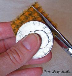 ThreeSheepStudio: A Simple Way To Cut Wool Pennies...