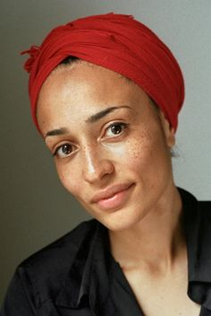 Writer, Zadie Smith.