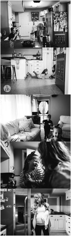 In Home Storytelling Sessions. Day-in-the-life documentary family photography: www.christinehurlaphotography.com