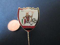 a64 MILAN FC club spilla football calcio soccer pins broches italia italy