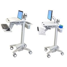 Medical Computer Carts | Hospital Computer Stands | Healthcare Computer Workstations | Medical Computer Wall Mounts — Catalog Products — Ergotron Electronic Medical Records (EMR) Carts