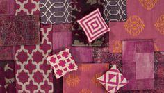 Radiant Orchid & Berry Crush JAIPUR RUGS #interiordesign