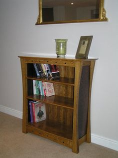 Oak Bookcase  Good link