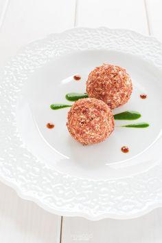 Tartufi salati con briciole di Prosciutto di San Daniele #natale #ricette
