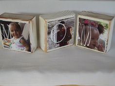 PHOTO BLOCKS Perfect Mothers Day Gift  Personalized by cjsworks, $22.50