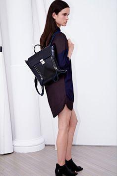 3.1 Phillip Lim Resort 2014 - Back Pack.  Shop 3.1 Phillip Lim accessories on www.VeryFirstTo.com