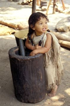 Wampanoag/Pilgrim Children at Plimoth Plantation