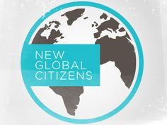New Global Citizens - Our program gives middle and high school students a global perspective, an opportunity to create change, and the skills needed to thrive in the Century. Global Logo, Education Day, Earth Logo, Unity In Diversity, Earth Design, Round Logo, Global Citizen, Project Based Learning, Logo Design Inspiration