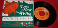 "ANDRE BLUMAUER - Let's have a Polka - Vinyl 7"" Single - Jupiter Records"