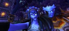 My Draenei making a lovely face welcomes Nudan as Draenei follower #5 to her Garrison. #selfie  #Warcraft