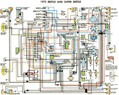 71 VW T3 wiring diagram Ruthie Pinterest Cars, Vw