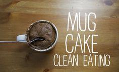 Clean Mug Cake | Recetas Clean Eating | FitFood 4K