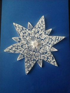 another quilled star