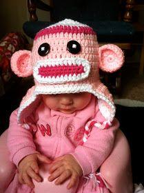 [LOL] Loving Out Loud : Crochet: Free Sock Monkey Hat Pattern
