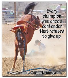 Every Champion was once a contender that refused to give up #Rodeo  Rodeo-Champion-never-give-up 0361