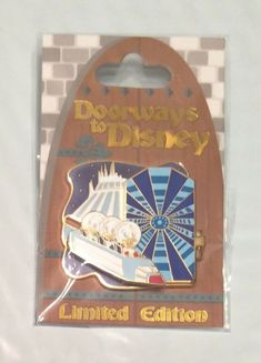 DISNEY SPACE MOUNTAIN 30TH ANNIVERSARY LIMITED EDITION OF 1000 /'77 /'07 CHARACTER