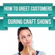 """How To Greet Your Customers During Craft Shows. I prefer a smile, maybe the comment """"let me know if I can show your something"""", and that's it. craft-shows/ Craft Business, Creative Business, Business Tips, Craft Fair Displays, Jewelry Displays, Display Ideas, Booth Displays, Hanging Jewelry, Jewellery Boxes"""