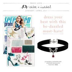 Everyone's buzzing about this cooler-than-cool c+i choker – including Seventeen magazine!