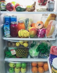 the fridge is a clear example of what matters most is what is on the inside