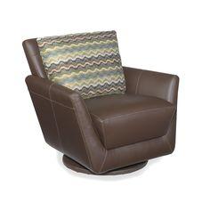 Mars swivel glider Chair by Lazar Industries – Five Elements Furniture