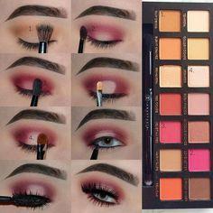 Soft Halo Eye ~ Tag a bestie with the Modern Renaissance Palette☺️ Anastasia… - Makeup Tutorial Lipstick Makeup Goals, Makeup Inspo, Makeup Inspiration, Makeup Tips, Beauty Makeup, Makeup Ideas, Makeup Tutorials, Makeup Hacks, Makeup Set