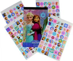 Amazon.com: Disney Frozen Stickers - Over 200 Stickers - Elsa, Anna, Olaf, and Kristoff: Toys & Games