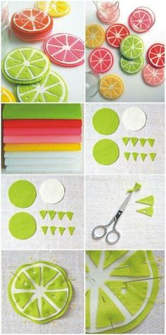 Craft felt kids play food Ideas for 2019 Cute Crafts, Felt Crafts, Fabric Crafts, Sewing Crafts, Diy And Crafts, Felt Food Patterns, Felt Fruit, Craft Projects, Sewing Projects