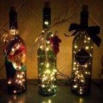 Wine Bottle Lights   Holidays