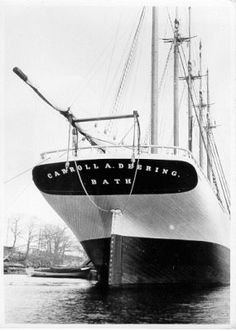 Uno de los barcos fantasmas más famosos de la costa este de los Estados Unidos…