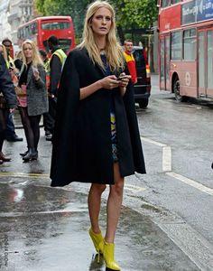 poppy delevigne - this cape is gorgeous