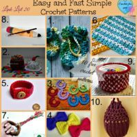 Link List 20 Easy And Fast Simple Crochet Patterns