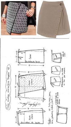 DIY Women's Clothing : Saia Envelope Assimétrica. Publicado em 01/08/2016 por marleneglaumar2002 em co...  https://diypick.com/fashion/diy-clothes/diy-womens-clothing-saia-envelope-assimetrica-publicado-em-01082016-por-marleneglaumar2002-em-co-2/