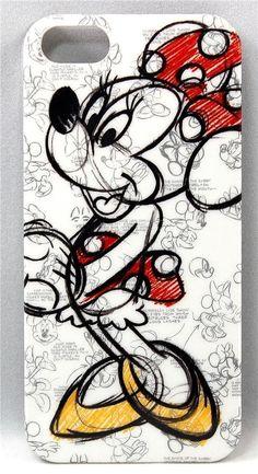 Disney Parks Authentic Minnie Mouse Sketch iPhone 5/5s Case  #DISNEY