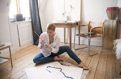 Studio Visit / Christiane Spangsberg