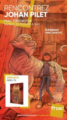 Ninn dédicacé par son auteur Johan Pilet Junior, Comic Books, Comics, Movie Posters, Art, Day Planners, Childhood Memories, Humor, Livres