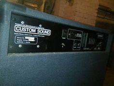 Custom Sound colt 100k mosfet. made in England.vintage Amp in Berlin - Lichtenberg | Musikinstrumente und Zubehör gebraucht kaufen | eBay Kleinanzeigen