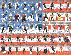 PREVIEWSworld has your exclusive first look at the remaining U.S.Avengers #1 state variants and how all 50 variants will connect to form Old Glory herself, the flag of the United States of America.