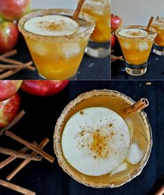 Must try this apple cider margarita this season. Cheers!