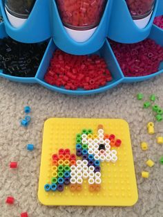 Perler Beads Unicorn Perler Beads Unicorn Free Perler Bead Patterns for Kids & Hello Kitty, minions, minecrafts, Disney, and more! Perler Bead Designs, Easy Perler Bead Patterns, Melty Bead Patterns, Perler Bead Templates, Hama Beads Design, Diy Perler Beads, Bead Embroidery Patterns, Perler Bead Art, Pearler Beads