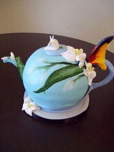 Teapot cake by see-through-silence.deviantart.com on @deviantART