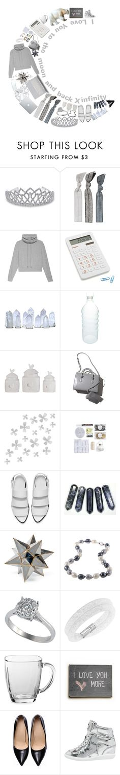 """I love you to the moon and back X infinity!"" by stelbell ❤ liked on Polyvore featuring Bling Jewelry, Emi-Jay, Helmut Lang, Crate and Barrel, canvas, Dot & Bo, ACME Party Box Company, Alexander Wang, Polar and La Preciosa"