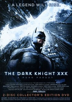 THE DARK KNIGHT XXX - A porn parody featuring a better Batman costume than its mainstream counterpart? A Catwoman who can actually kick ass? Zatanna? John Constantine? Nightwing? Poison Ivy? Batgirl? A Bane who can give his Hollywood counterpart a run for his money, and a Joker who's creepier than the late screen legend? Welcome to the Porn Parody event of the summer! From adult powerhouse Vivid Entertainment and undisputed parody king Axel Braun, comes another epic exercise in geekgasmic…